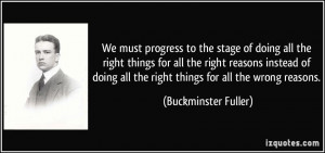 progress-to-the-stage-of-doing-all-the-right-things-for-all-the-right ...