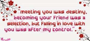 Quotes Cute About Meeting...