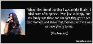 More Pia Toscano Quotes