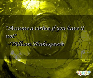 Assume Quotes
