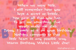 Birthday Quotes For Brother Nostalgic birthday wishes for