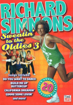 Richard Simmons Sweatin to The oldies DVD Vol 3 New Aerobic Exercise ...