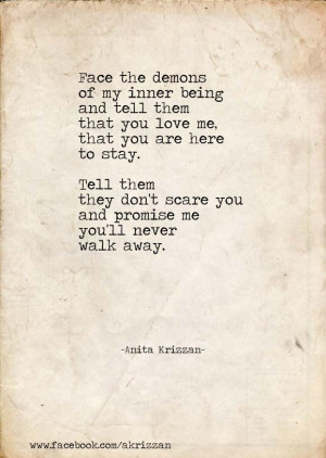 Quotes Inner Demons, Face, Beautiful Poems, Inner Demons Quotes, Life ...