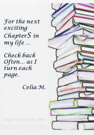 One Chapter Finishes ~ Another Begins...