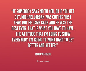 Magic Johnson Quotes About Life Preview quote