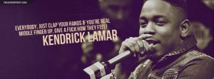 Kendrick Lamar Let Me Be Lyrics Facebook Cover