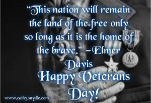 Veterans Day Quotes and Poems