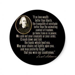Samuel Adams Quote Chains