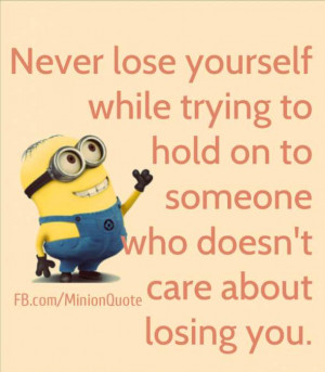 never lose yourself never lose yourself while trying to hold on to ...