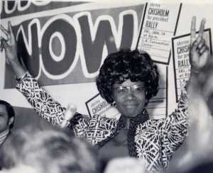 Shirley Chisholm, the first African-American woman elected to Congress ...