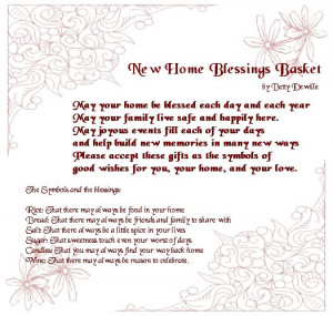 ... Gift, New Home Gift, Baskets Poem1 Jpg, Housewarming Quotes