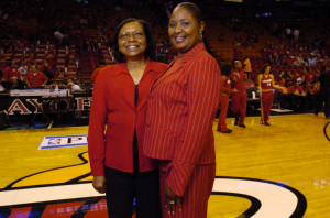 Debra Haslem, the mother of Heat forward Udonis Haslem, died of cancer ...