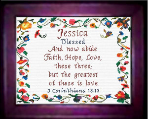 Name Blessings - Jessica