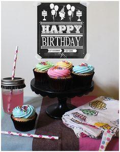32nd birthday to me funfetti cupcakes more 32nd birthday birthday ...
