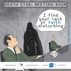 Funny Business Quotes, Star Wars, Darth Vader, by ibbds