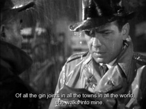 quotes from casablanca | movie, casablanca, quotes, sayings, life ...