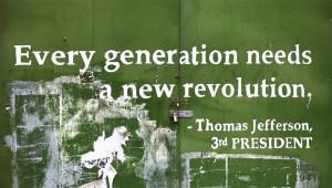 Thomas Jefferson quote; third president of the United States
