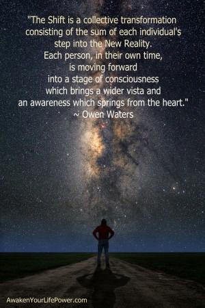 milkway galaxy shift quote