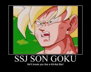 DBZ Abridged Goku Quotes