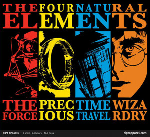 "... Who, and Harry Potter called ""The Four Elements"" by Warbucks360"