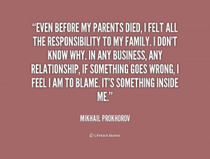 Quotes by Mikhail Prokhorov