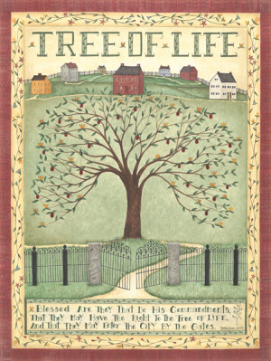 Details about Tree of Life by Cindy Shamp Sayings Motivational Print ...