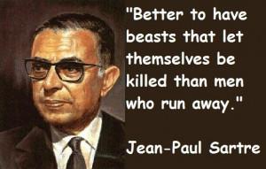 Jean paul sartre famous quotes 4