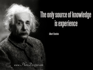 Einstein is one of the people I salute because of his wonderful ...