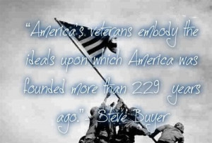 Best free and meaning Veterans Day 2013 quote :