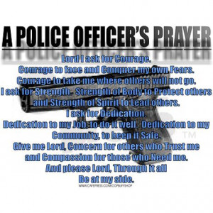 Police Officer Prayer Credited