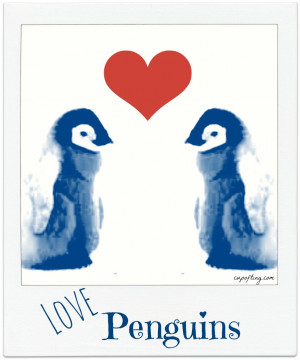 Penguin Love Quotes Love penguins