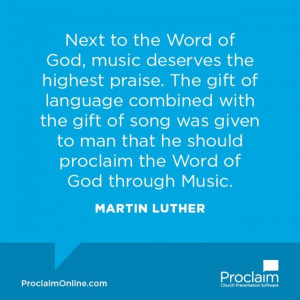 Luther and #Calvin on #Worship | #Proclaim Blog
