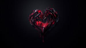 Dark Red Heart - 1920x1080 - 16:9