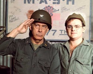 ... television today, as Emmy-winning actor Harry Morgan has passed away