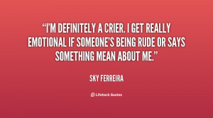 Quotes About Being Rude