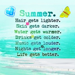 Cute Summer Love Quotes