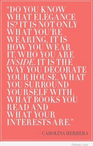 Elegance quotes wallpaper