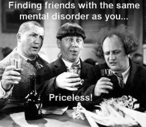And funny...Three stooges.