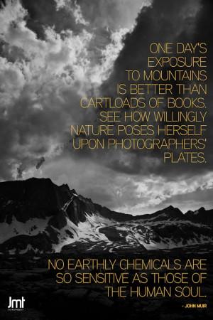 Hiking John Muir Quotes