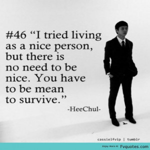 Quotes About Spiteful People | Superjunior Suju Sj Heechul Kimheechul ...