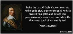 Lord, O England's Jerusalem: and Netherland's Zion, praise ye the Lord ...