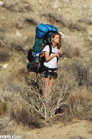 Reese Witherspoon on the set of #WILD #PCT filming Wild