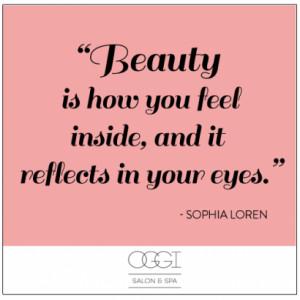 Sophia Loren has always spoken wise words!