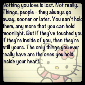 nothing love lost quotes