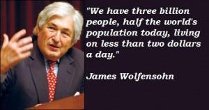 James wolfensohn famous quotes 4