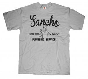 sancho plumbing tchirts funny tshirts el sancho