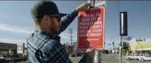 Jay Shells Posts Famous Rap Quotes Around Los Angeles In Clever Street ...