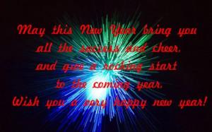 2015 New Year Sayings