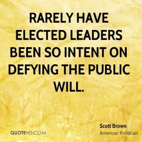 Scott Brown Health Quotes
