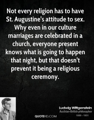 Ludwig Wittgenstein Marriage Quotes